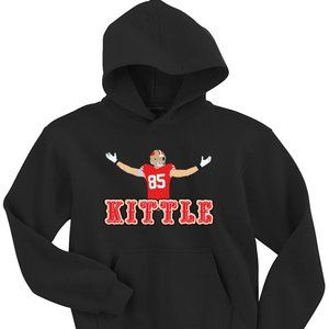 George Kittle San Francisco 49ers YOUTH LARGE HOOD